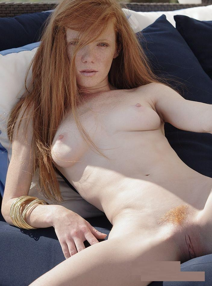 with hot nude freckles redhead