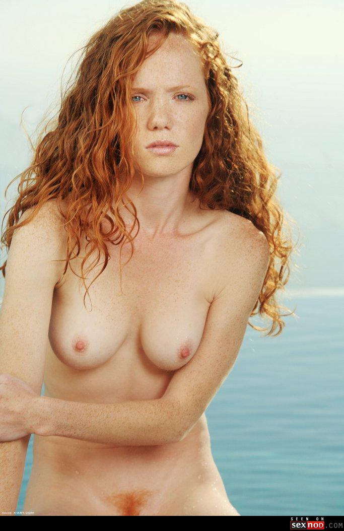 Beautiful nude girls with freckles really
