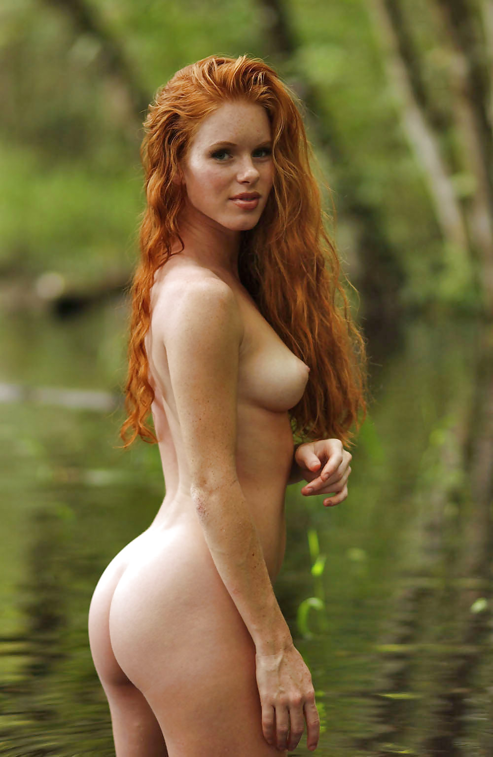 Ass big freckle redhead naked need